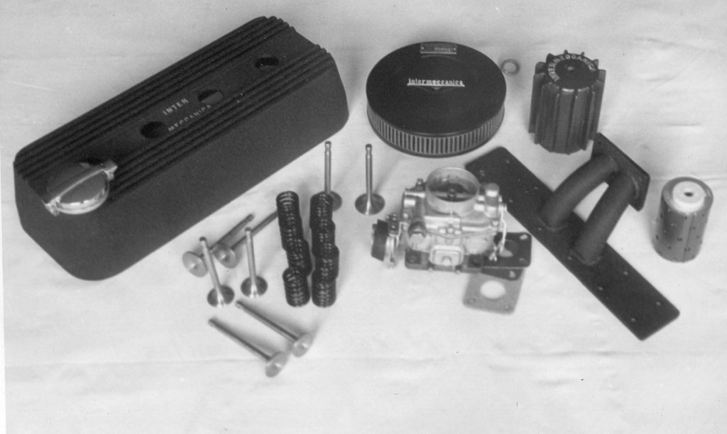 Intermeccanica's first product: a speed equipment kit