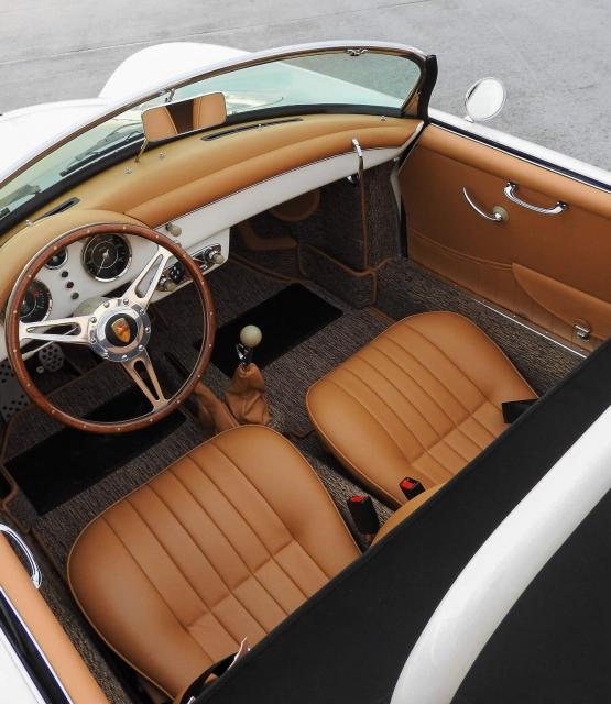 Pre A Speedster Interior